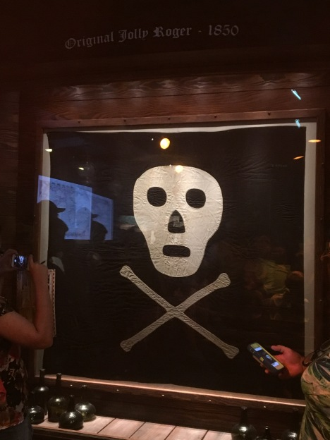 Only real 'jolly roger' (pirate flag) in US