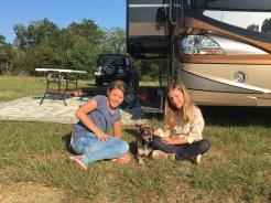 Adam the campground dog