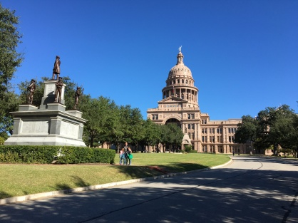 Capitol Building in Austin