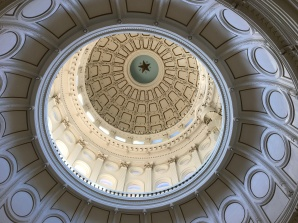 Rotunda. The star at the top is 8 feet wide