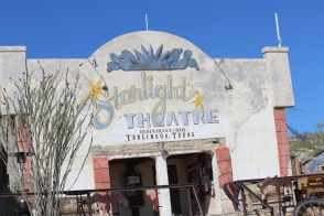 Starlight Theatre in Terlingua