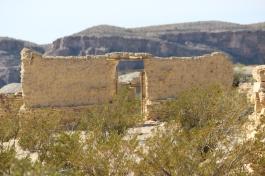 ruins from mining company