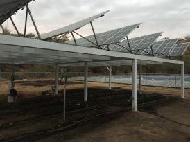 solar panel garden