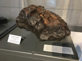 another piece of the meteor found in Canyon Diablo from the meteor impact