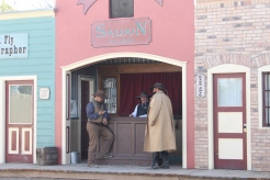 The replica of Big Nose Kate's saloon